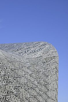 Rudy-Ricciotti - Stade Jean bouin-France. Laatticework made of concrete another nice work of Rudy Ricciotti architects :)