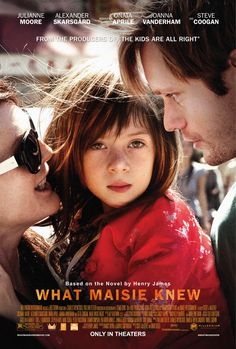 What Maisie Knew > a bittersweet film about an adorable little girl in a terrible situation. my heart went out to her and I was won over by the goodness in people portrayed through these characters. also, it made me so grateful my parents are still happily married.