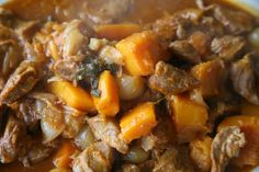 Just wanted to share this delicious recipe from Lidia Bastianich with you - Buon Gusto! VEAL WITH ONION AND SQUASH