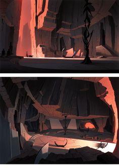 Artes de Sym-Bionic Titan e Clone Wars, por Scott Wills | THECAB - The Concept Art Blog