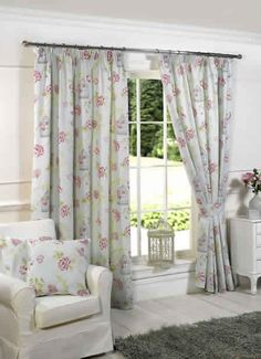 Image for Charlotte, Duckegg - Ready Made Curtains