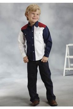 Roper Americana Pieced Collection Boys Americana Collection - Urban Western Wear