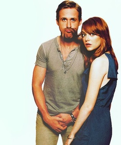 Ryan Gosling and Emma Stone (Crazy, Stupid, Love)