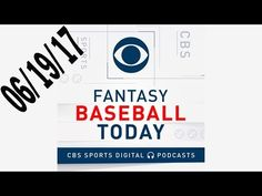 Fantasy Baseball Podcast 06/19/17 - Fantasy Baseball Podcast: Weekend Roundup
