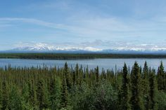 Snowcapped Peaks of Wrangell - St. Elias National Park, Alaska