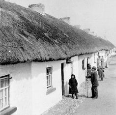 A typical west of Ireland fishing village.This one in Co.Galway.