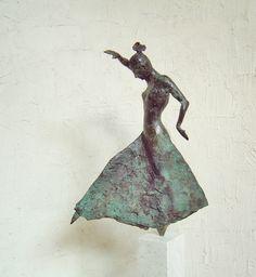 """Saatchi Art Artist: jan verhees; Bronze 2012 Sculpture """"FLAMENCO (nr. 1 - series 5)"""""""