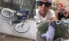 Pranksters set bike to release shocks to those who try and steal it