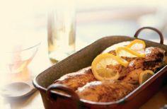 Petto di Pollo Marinato alla Mela Cotogna con Aceto Balsamico di Mela Cotogna e Spremuta d'Oliva VOM FASS