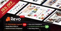 Revo v1.4.0 - Multi-Purpose Responsive WooCommerce Theme