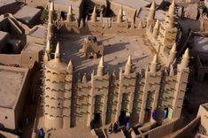 Mosque in Timbuktu, Mali, uncredited