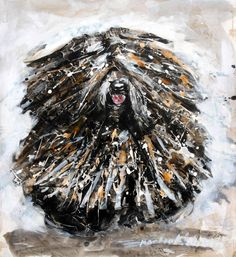 Martial-Robin, this is Ch. Bubbleton Feel The Spirit. Pumi Dog, Hungarian Puli, Unusual Dog Breeds, Psy, Herding Dogs, Dog Show, Dog Art, Mans Best Friend, Wolves