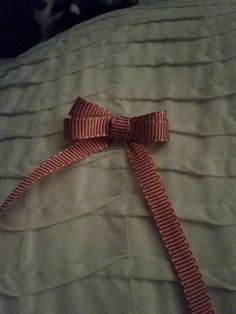Pretty Christmas double bow