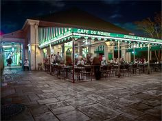 Where would we be without Coffee and Beignets from Cafe Du Monde? - French Quarter, New Orleans, Louisiana