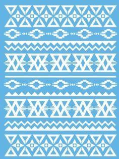 American Decor Stencil Aztec Pattern - Google Search