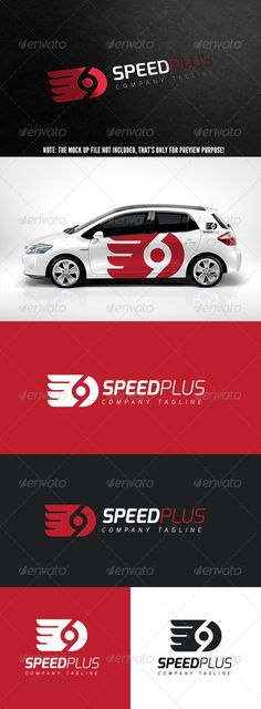 Speed Plus Logo #GraphicRiver This logo design for all creative business. Consulting, Excellent logo,simple and unique concept.
