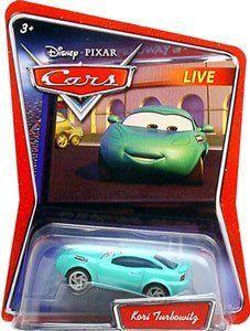 Disney Pixar Cars Kori Diecast Car by mattel. $7.99. Disney Diecast Cars. Disney Pixar Cars KORI TURBOWITZ Exclusive