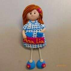 Bonecas do 1069, menina em fimo