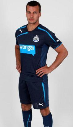 Newcastle United Blue Away Kit 2013-2014 Puma