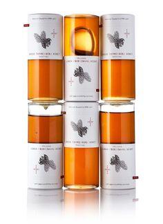 Foodscross Premium Honey — The Dieline