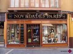 NOVEDADES PARÍS, ZARAGOZA Places Around The World, Around The Worlds, Liquor Cabinet, Storage, Travel, Furniture, Home Decor, Zaragoza, Life