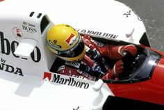 Ayrton Senna McLaren - Honda 1991