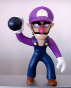 "3.75 Super Mario Characters Figure Collection ~ WALUIGI~ by bp. $3.39. waluigi 3.5"""