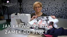 Szkoła szycia Marty Walków - odc. 5 Marta prezentuje swoją metodę wszywania zamka do bluzy dresowej. Wszystko co potrzebne do szycia znajdziesz w naszym skle...