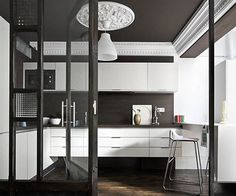 black and white, modern and traditional from Spanish studio Ramisa Projects