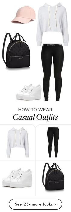 """casual"" by zuziap03 on Polyvore featuring Monrow"