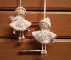 My world of crochet: 2 kleine Engelchen