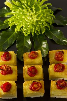 Canapes, Cherry Tomatoes, Pineapple, Toast, Fruit, Food, Pine Apple, Essen, Meals