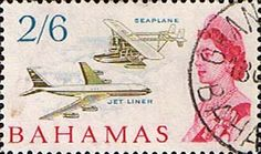 Postage Stamps of Bahamas 1965 SG 258 Sikorsky S-38 Flying Boat Other Bahamas Stamps HERE