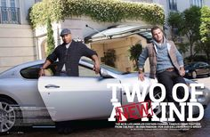 NCIS: LA's LL Cool J & Chris O'Donnell photographed by Cliff Lipson for Watch! Magazine