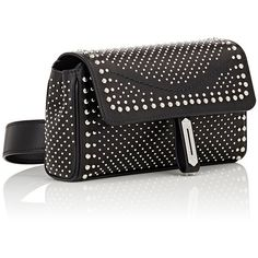 e718909bf19 Fontana Milano 1915 Women s Studded Pochette Belt Bag (45.065.090 VND) ❤  liked on Polyvore featuring bags