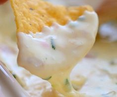 How To Make Queso Blanco Mexican White Cheese Dip Restaurant Style