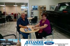 We had a great experience with our salesman Pancho today. He is friendly, honest and very knowledgeable! Thank you Pancho for a pleasant experience! - Don & Deborah Ludington, Monday, October 27, 2014 http://www.billalexanderford.com/?utm_source=Flickr&utm_medium=DMaxxPhoto&utm_campaign=DeliveryMaxx
