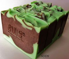 SUDS Chocolate Mint Swirl by SUDS Handmade Soap Co. on Flickr