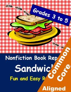Students in grades 3 to 5 love these nonfiction worksheets! Layer by layer, they build the elements of a NONFICTION book report. Plus picnic-themed bulletin-board display. By Betsy Weigle at Classroom Caboodle.