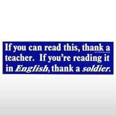 another reason to thank a soldier-WOW, that has power behind it!