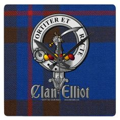 Elliot Plaid | Clan Elliot Badge