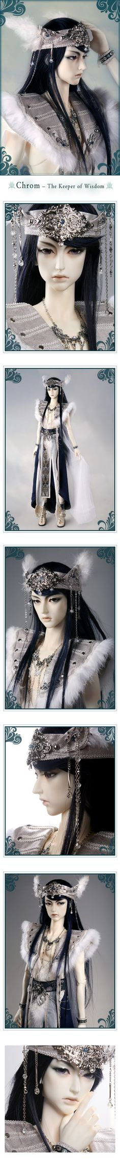 the SOOM emporium Chrom – The Keeper of Wisdom #bjd