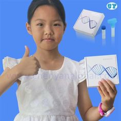 2018 New designed sterile disposable painless saliva gene and DNA testing & detection collection kit Dna Testing Kits, Dna Kit, Human Dna, Cotton Swab, Genetics, Collection, Blood, Medical, China