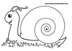 Slakkehuisje maken voor fijne schrijf motoriek
