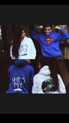 Find and shop the latest matching couples products on our fashion website. Matching Hoodies For Couples, Matching Couple Outfits, Boyfriend And Girlfriend Hoodies, Boyfriend Cardigan, Boyfriend Texts, Boyfriend Quotes, Cut Shirts, Cool T Shirts, Couple Jacket