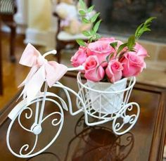 Baby Shower Centerpieces are important parts of any baby shower because it is meant to grab attention. Here's 76 ideas to wow the guests, plus DIY videos,. Baby Shower Centerpieces, Party Centerpieces, Wedding Decorations, Wedding Favors, Party Favors, Baby Shower Table, Baby Shower Parties, Baby Showers, White Roses