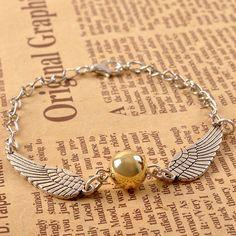 harry potter bracelet snitch bracelet owl bracelet~~ snitch deathly hallow braided bracelet