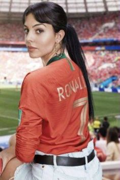 Have you ever wondered who is Cristiano Ronaldo Wife? Georgina Rodriguez the Spanish Model is the Cristiano Ronaldo Wife. Ronaldo Wife, Cristiano Ronaldo Girlfriend, Cristano Ronaldo, Football Girls, Football Players, Whatsapp Mobile Number, Girlfriends, Cute Outfits, Graphic Sweatshirt
