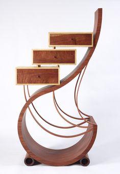 Winged Spirit By Neil Turner   Fine Furniture, Bespoke Art Furniture,  Jarrah, Organic