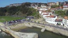 Puerto viejo de Algorta, a vista de dron (Airetikan)